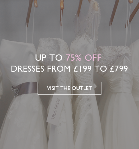 UP TO 75% OFF - DRESSES FROM £199 TO £799