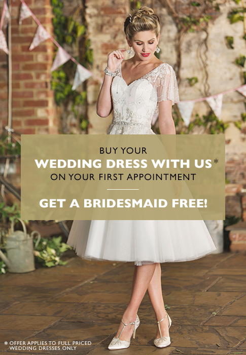 Buy your wedding dress with us
